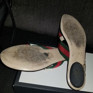 58e455673 Gucci Shoes - Gucci Web bow Sandals